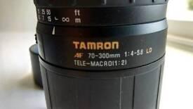 Tamron 70-300 canon fit lens