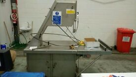 Biro 505 Meat Butchers Bandsaw, stainless steel Industrial Heavy duty