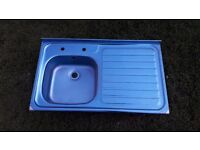 **JAY'S APPLIANCES**BRAND NEW**STAINLESS STEEL KITCHEN SINK**STILL IN PLASTIC**MORE AVAILABLE**