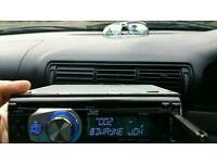 JVC car stereo in good condition with usb aux mp3 freme and panel box!can deliver or post!