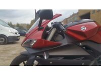 Yamaha YZF R125, very good conditions, red