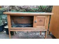 Small guinea pig hutch