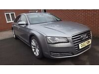 SOLD Audi A8l 3.0tdi SE Executive LWB FSH. Fully loaded 'A glaze coating'.