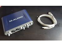 M-Audio Fast Track Pro USB external soundcard audio interface