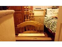 single pine bed brand new