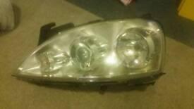 Corsa C headlamps