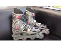 Inline Skates Subway Size EU 37/38 Well used but some life left £5
