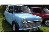 Classic Mini 1000 automatic fully restored and ready to drive.