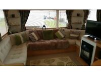 Lovely 6 Berth caravan for rent in trecco Bay Pothcawl