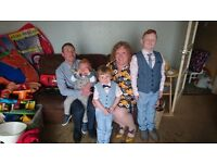 Looking for a three bedroom house in folkstone for working family