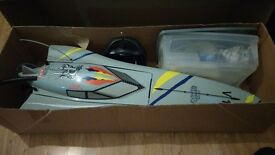 Nitro rc boat very fast great xmas present