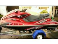 Yamaha jet ski....supercharged fzr, fxr