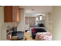 Single person studio flat available end November 16. £850.00 pcm including all bills WiFi.