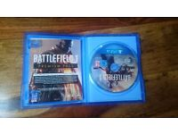 Battlefield 1 - PS4 - *£20* - perfect condition