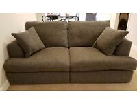 Next Sonoma 3 seater sofa and 2 seater cuddle chair