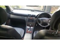BENZ C CLASS DIESEL AUTO, EXCELLENT CONDITION ,LEATHER ELECTRIC SEAT