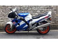 Suzuki GSXR 1100 WR - Blue/White - 1994 - 25455 miles - MOT till August