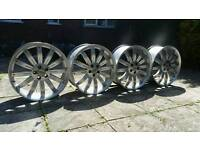 22 Inch Range Rover Overfinch Alloy Wheels