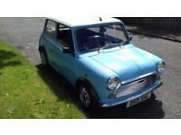 Classic Mini 1000, fully restored and ready to use.