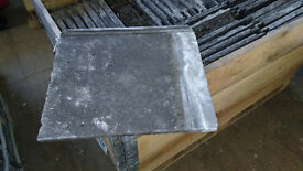 Cement roofing tiles - reclaimed Marley from 1977 approximately 550, in crates