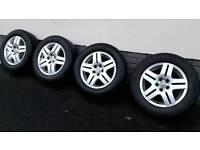 Vw Mk4 Golf, Bora, Beetle 4 alloys and tyres