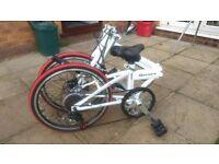eastwharf series 9 folding bike
