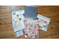 Load of craft papers and napkins