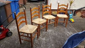 4 dining chairs for sale