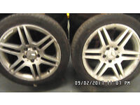 MERCEDES-BENZ AMG ALLOY 17' WITH TYRE