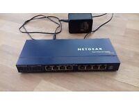 Netgear Fast Ethernet Switch FS108