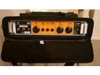 Orange OB1 (Kenobi) with rack mount case and footswitch