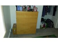 Ikea Halm 4 drawer chest of drawers