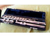 La Fleur 82990 Silver plated flute