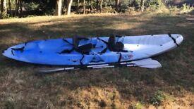 RTM Ocean Duo Tandem Kayak in Blue - Excellent Condition