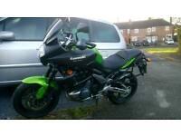 Kawasaki versys 650 low miles