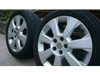 Vauxhall 17 inch Elite Alloys for sale