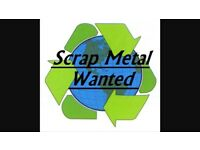 Wanted scrap metal wanted (no fridges or freezers