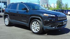 2016 Jeep Cherokee LIMITED 4X4 - TOW GROUP