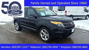 2013 Ford Explorer Limited 4WD | One Owner | Finance from 1.9%