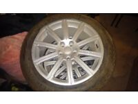 Range Rover Vogue Autobiography 20inch Alloy Wheels with Vredestein Tyres NEW never used