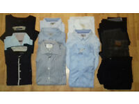 """Great Condition"" (£150) 21 Men's shirts/Jeans TOMMY HILFIGER/BURBERRY/Calvin Klein M&S TAILORET FIT"