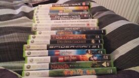 Xbox 360 games in ok condition