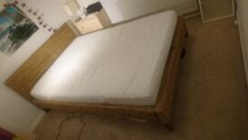 Double Bed with slatted base