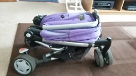 Quinny zapp xtra 2 in purple pace
