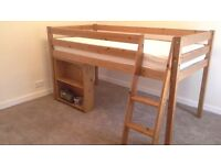 bunk bed with matress