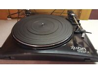 ION Profile LP Turntable Fully Working Immaculate Condition with all Paperwork and Software