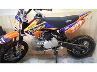 STOMP-125cc(MINT) 2016 (putoline) pitbike/motocross(125cc)