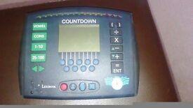 Countdown electronic game
