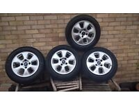Ford Alloy Wheels (Set)