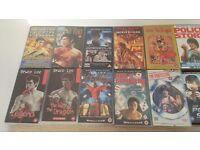 16 x Asian Action cinema VHS DVD lot